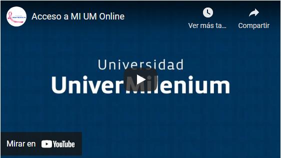 Video Acceso a Mi UM Online