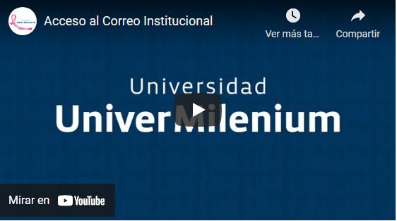Video Acceso al correo institucional
